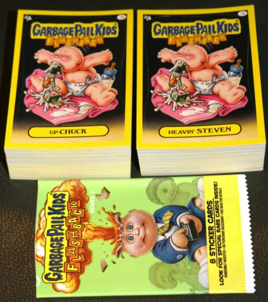 2011 TOPPS GARBAGE PAIL KIDS FLASHBACK SERIES 3 COMPLETE SET 160 CARDS AB