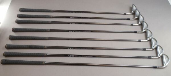 DEMO SET MRH Reg Flex Graphite Shaft set of Irons 3 to PW G500 Multiple Length