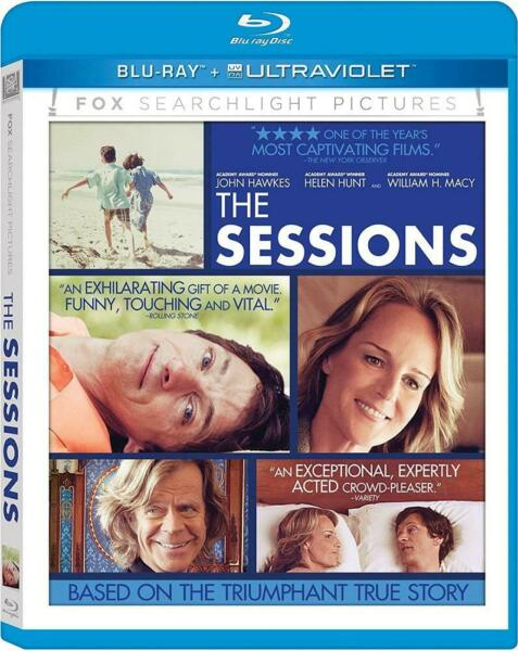 The Sessions (Blu-ray Disc 2013) Helen Hunt NEW $7.40