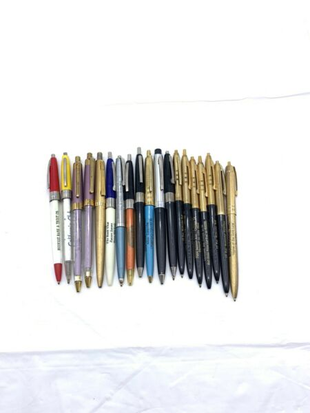Vintage Advertising Pens 4 parts Only