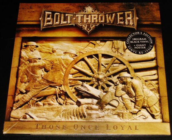 Bolt Thrower: Those Once Loyal - Collector's Edition LP 180G Vinyl Record EU NEW