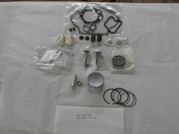 CLUB CAR GOLF CART PART FE290 ENGINE REBUILD KIT 1992-UP