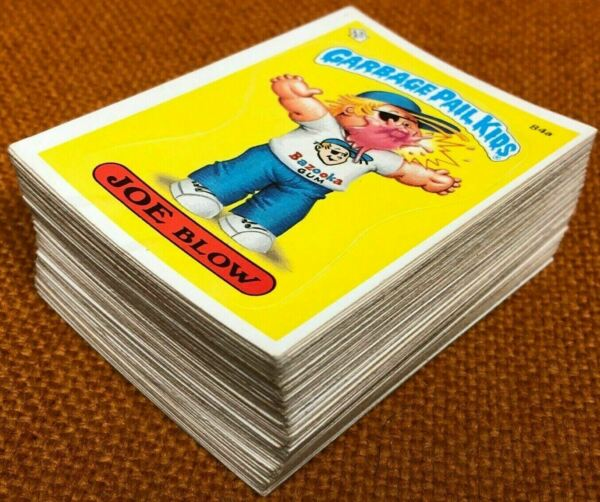 1986 Topps Garbage Pail Kids Original 3rd Series 3 OS3 Complete 88-Card Set GPK