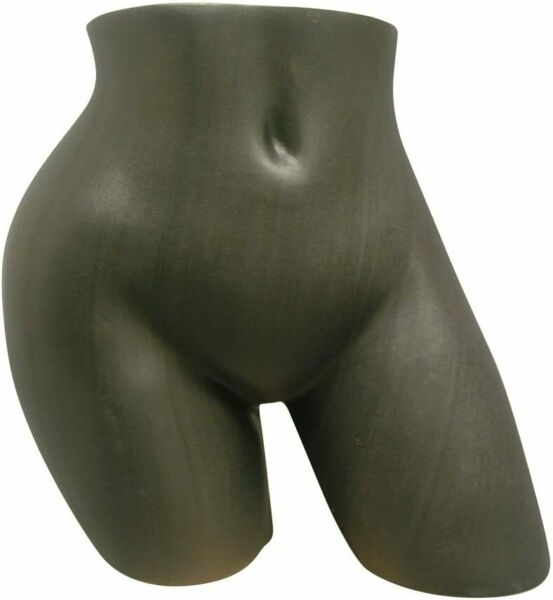 Sexy Female Underwear Tush Torso Form Mannequin Under Pants Store Display-Black