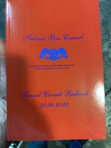 Federal Bar Council Second Circuit Redbook 2019 2020