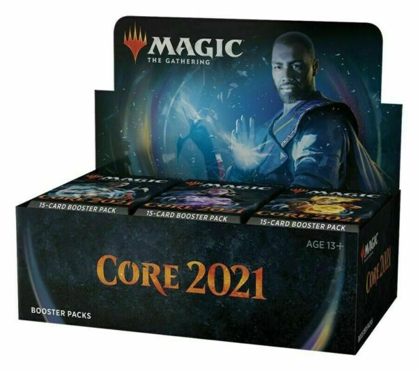 Magic Core Set 2021 M21 Booster Box MTG NEW FACTORY SEALED  $86.75