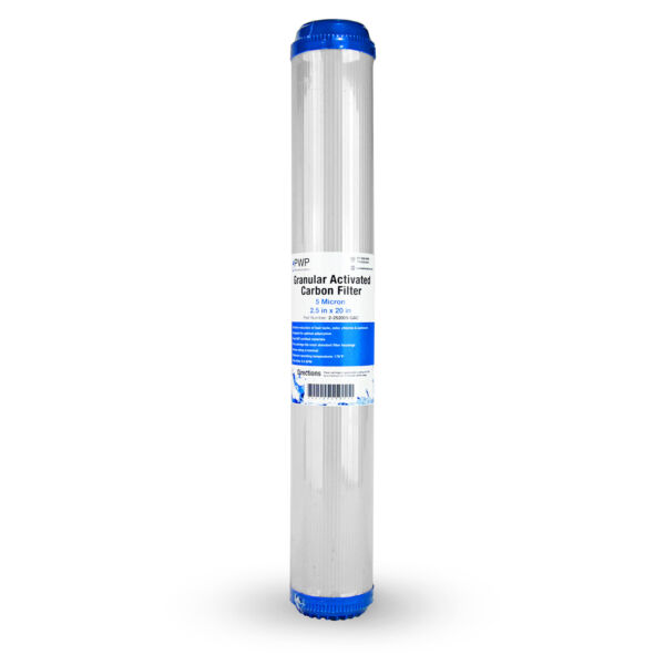 Granular Activated Carbon Water Filter Cartridge Standard 2.5 x20quot; 5 Micron 4