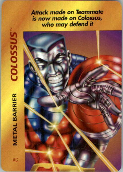 1995 Marvel OverPower #70 Colossus Metal Barrier C $1.20