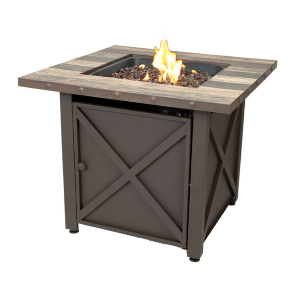 Blue Rhino Endless Summer 50000 BTU Outdoor Fire Table Uses Propane Gas