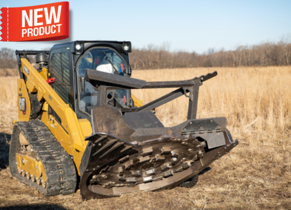 Bradco New FD60 Forestery Disk Mulcher For High Flow Skid Steers Order Now