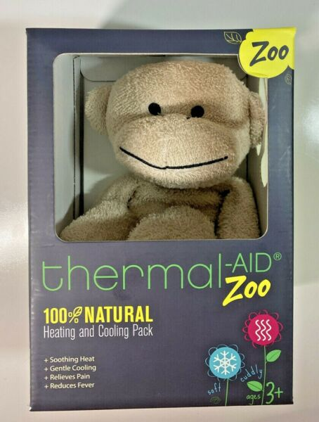 Thermal Aid Zoo 100% Natural Heating And Cooling Monkey $19.99