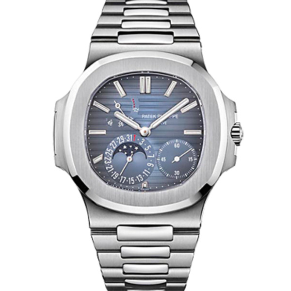 Patek Philippe 5712 Nautilus Stainless Steel Mens Watch BoxPapers 57121A-001