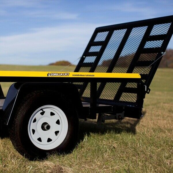 Gorilla Lift 2 Side Tailgate Utility Trailer Gate and Ramp Lift Assist System $139.99
