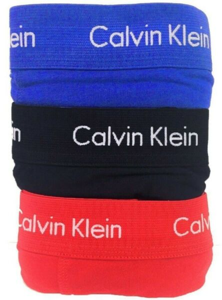 Calvin Klein Men#x27;s 3 Pack Underwear Cotton Stretch Boxer Brief Trunks