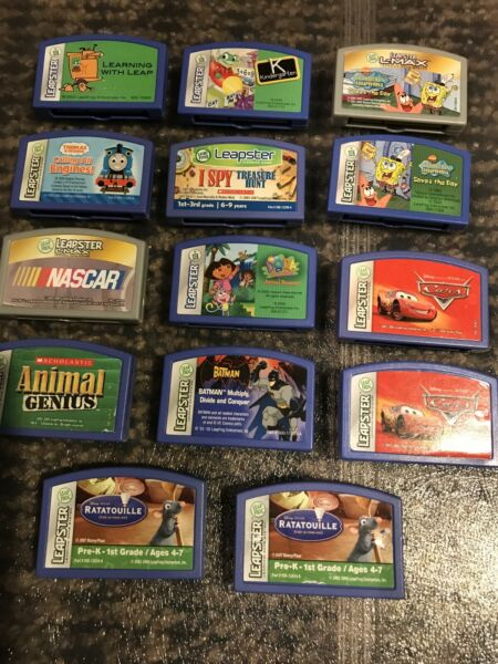 Leap Frog Leapster Game Lot $14.00
