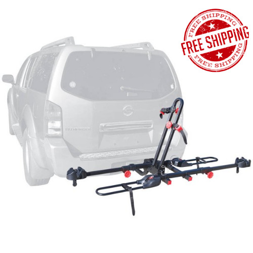 RACK 2 BIKE HITCH MOUNT Carrier Trailer Car Truck SUV Receiver Bicycle Transport $131.04