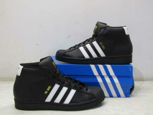 Adidas Men's US 8.5 Pro Model Sneakers Black/White