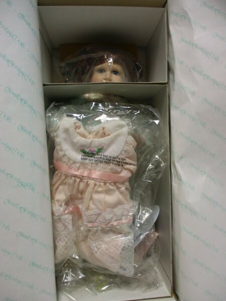 Heritage Dolls Megan Porcelain Doll