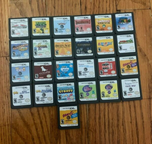 Pre owned Nintendo DS Games in Original Cases