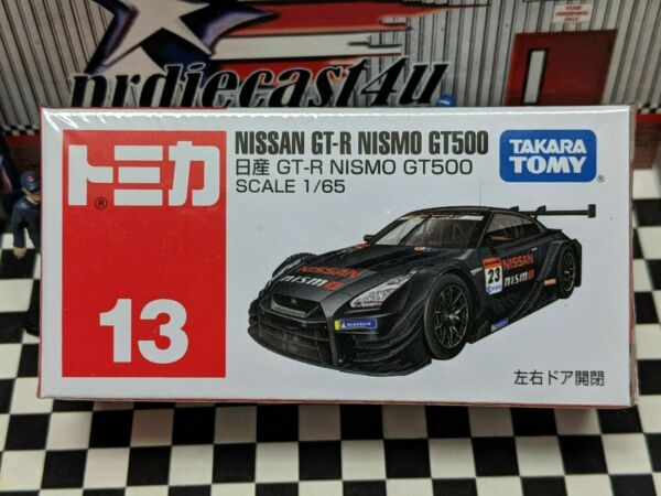 TOMICA #13 NISSAN GT R NISMO GT500 1 65 SCALE NEW IN BOX