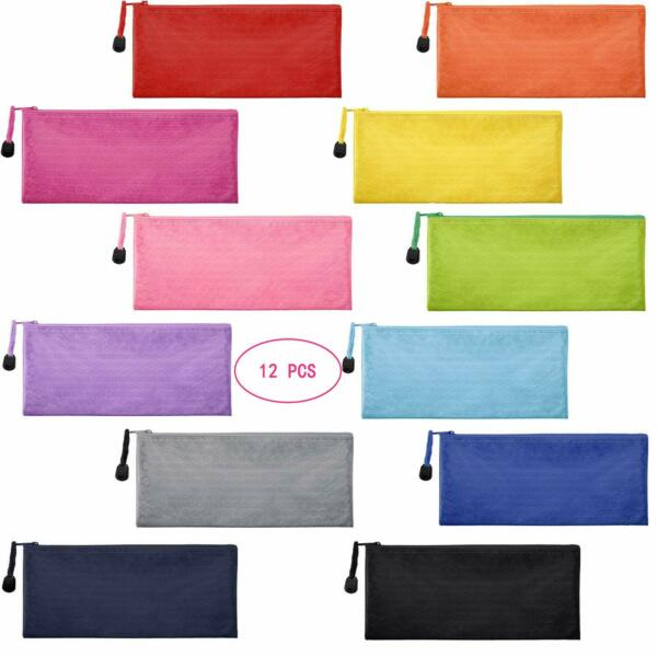 Oxford Tool Pouch Zipper Bag Utility Multipurpose Small Tools Bags 12 Pack New