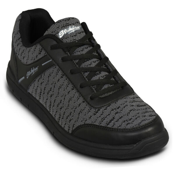KR Strikeforce Flyer Mesh Black Steel WIDE WIDTH Mens Bowling Shoes