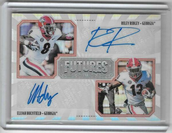RILEY RIDLEY  HOLYFIELD 2019 LEGACY ROOKIE FUTURE INK AUTOGRAPH AUTO #0250