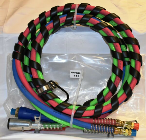 COMMERCIAL TRUCK amp; TRAILER 3 IN 1 AIR amp; ABS ELECTRICAL CABLE 12#x27; MHD2026C $120.00