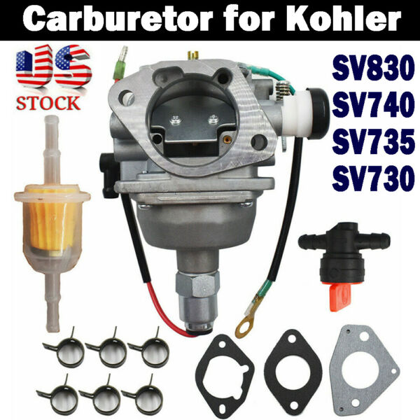 Carburetor for Kohler Fits Toro Model 59008 SV830 SV740 SV735 32 853 12 S Engine