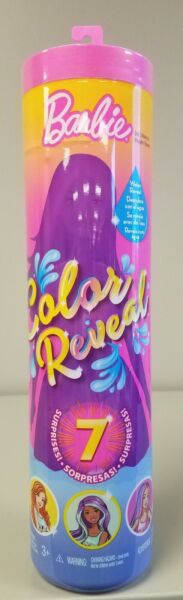 BARBIE DOLL Color Reveal Series 1 Mystery Barbie With 7 Surprises New in Package