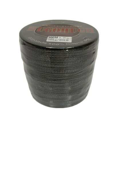 Braided Line 80 Pound Test 500 Meters Green Fishing Line Super PE Braid NEW