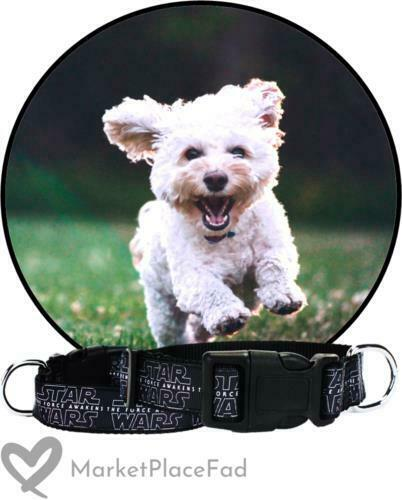 Dog Wars: Collar Nylon The Force Awakened 1quot; Small Large 10quot; to 14quot; amp; 14quot; to 22quot; $6.38