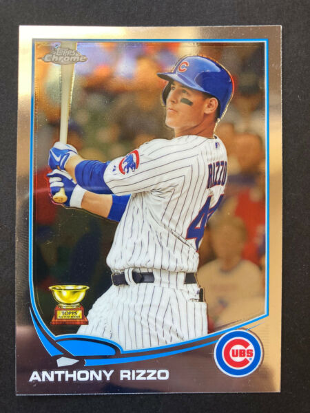2013 Topps Chrome ANTHONY RIZZO #158 Chicago Cubs Rookie Cup Card $4.00