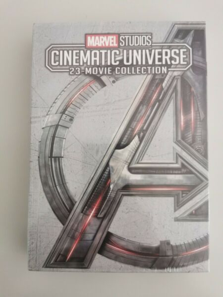 MARVEL STUDIOS CINEMATIC UNIVERSE 23 MOVIE COLLECTION 12 Disc DVD Fast shipping $43.62