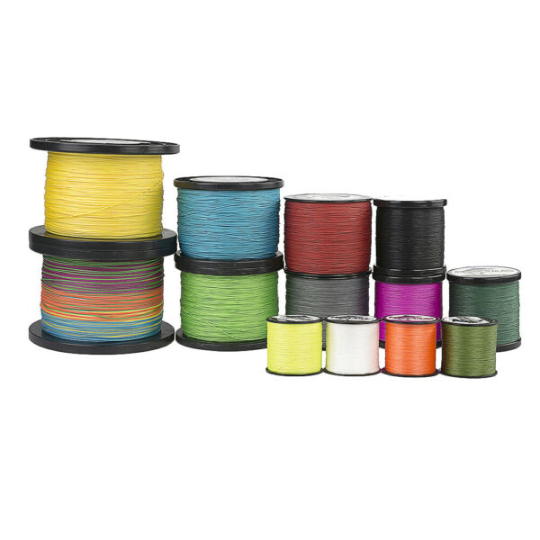 4 8 Strands Hercules 100lbs PE Braided Fishing Line 100 300 500 1000 1500 2000M