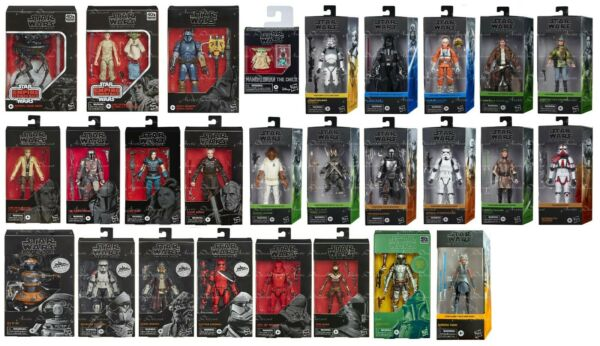Star Wars The Black Series 6quot; Action Figure 23 Variations to Choose 10 16 2020 $27.95