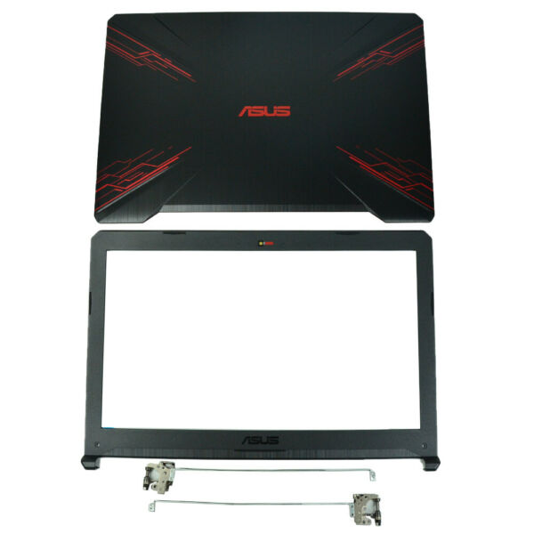 NEW ASUS TUF Gaming Fire Blush FX504 FX80 LCD Back Coveramp; LCD Front BezelHinges