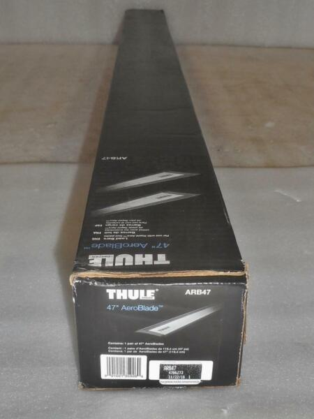 New THULE ARB47 47quot; AeroBlade 2x 119cm Load Bars Bars Only $130.20