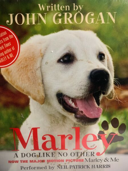 Marley A Dog Like No Other by John Grogan CD New Factory Sealed 2008 Unabridged $12.99