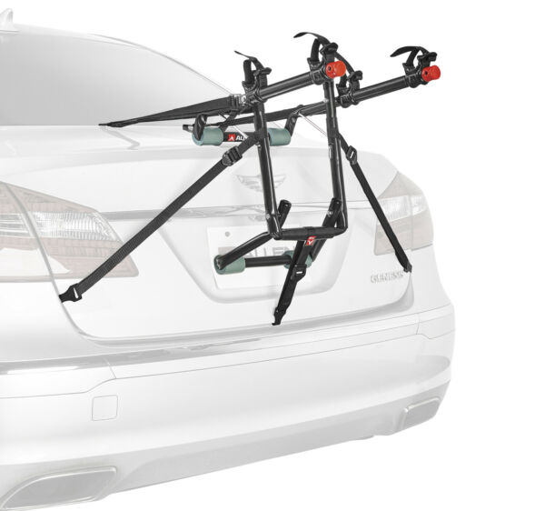 2 Bike Trunk Rack Rear Mount Two Bikes Carrier Car SUV Bicycle Sedans Sturdy Arm $49.70