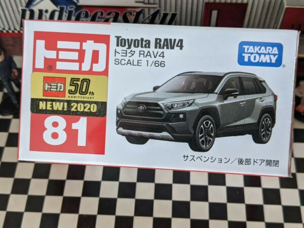 TOMICA #81 TOYOTA RAV4 1 66 SCALE NEW IN BOX