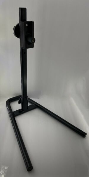 T60 Bike Stand Bicycle Off Ground One Wheel Black Metal Cycling Riding Storage $24.95
