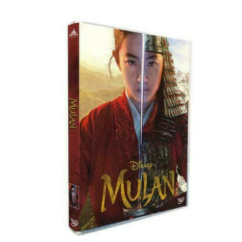 Mulan 2020 New Movie DVD LIVE ACTION W REAL POEPLE $12.99