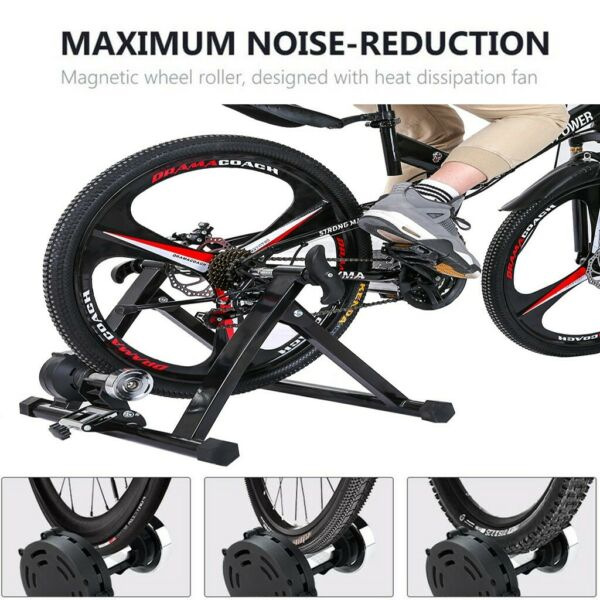 Bike Trainer Stand Magnetic Bicycle Stationary Stand For Indoor Exercise health. $86.81