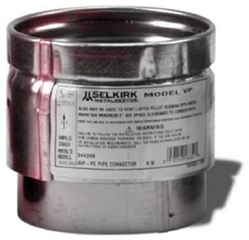 SELKIRK 3quot; Pellet Stove Pipe Adapter Connector New $16.99