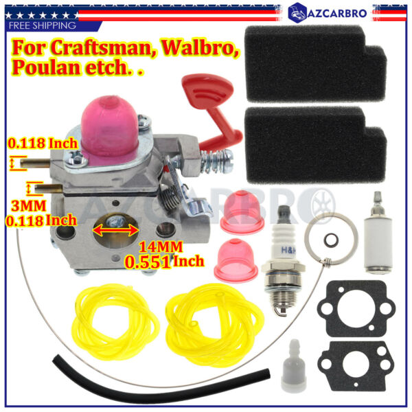 Carburetor Kit for Craftsman Blower 358794744 358794733 358794743 358794731 Carb
