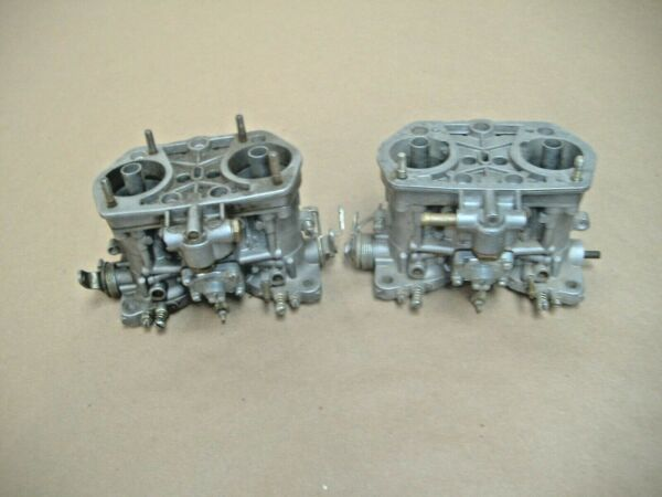 Empi 44 hpmx carburetors for parts no jets vw bug high performance carbs $89.00