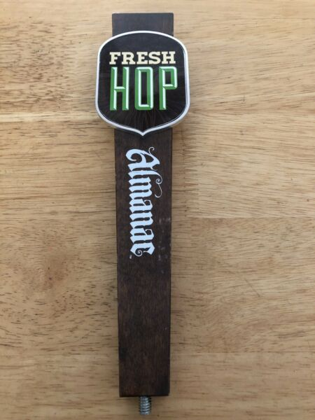 Vintage Beer Tap Handle Fresh Hop Almanac