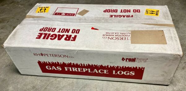 New 24quot; Wood Stack Log Set Only WS 24 Peterson RealFyre Gas Fireplace Real Fyre