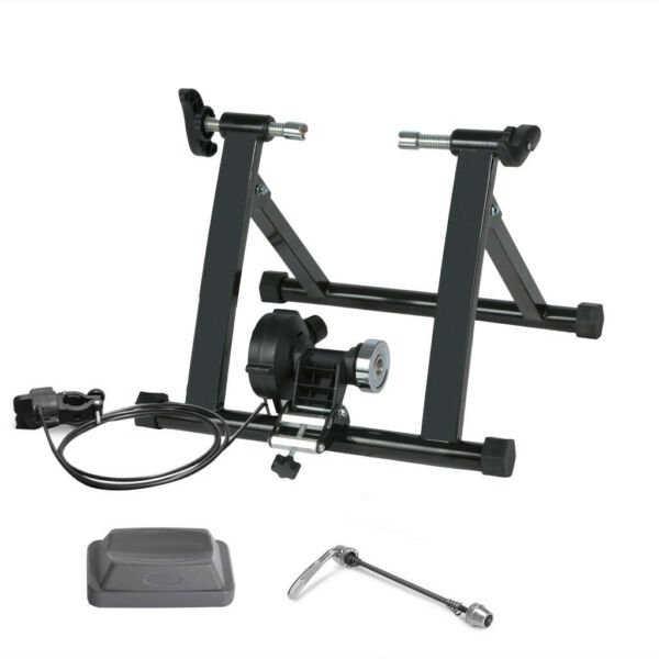 Bike Trainer Stand Magnetic Bicycle Stationary Stand For Indoor Exercise $76.98